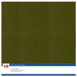 55 Pine Green - Linnen Kaarten 30,5 x 30,5cm - 10 stuks - 200 grams - Card Deco - PAKKETPOST!!