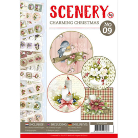 POS10009 Push Out book Scenery 9 - Charming Christmas