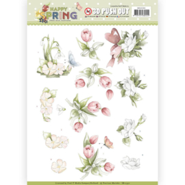 SB10330 Stansvel A4 - Happy Spring - Marieke Design