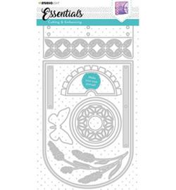 STENCILSL382  Snij- en embosmal - Essentials- Studio Light