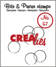 Bits & Pieces Clearstempel no. 57 - Crealies