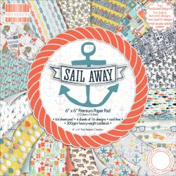 Paperpad 15x15cm - Sail Away - First Edition