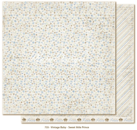 733 Scrappapier dubbelzijdig - Vintage Baby - Maja Design