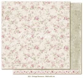 823 Scrappapier dubbelzijdig - Vintage Romance - Maja Design