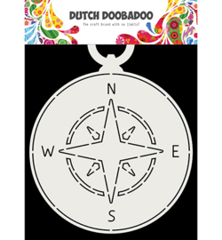 470.713.717 Fold Card stencil - Dutch Doobadoo