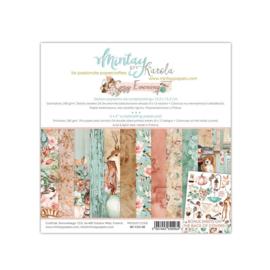 Paperpad 15x15cm - Cozy Evening - Mintay
