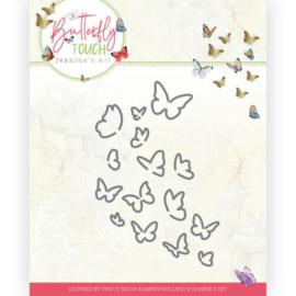 JAD10120 Snij- en embosmal - Butterfly Touch - Jeanine's Art