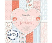 DCPAP159 Paperpad 6x6 inch Posies- Dovecraft