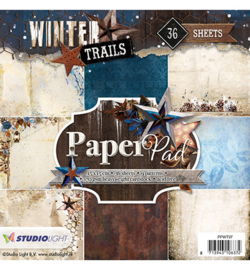 PPWT97 Paperpad - Winter Trails - Studio Light