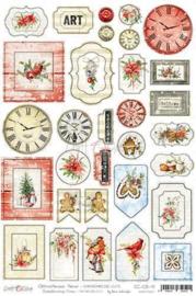 Craft O' Clock - Christmas Time - Cardboard Die Cuts