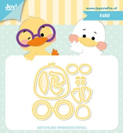 6002-1273 Snij- en embosmal - Joy Crafts