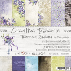 Paperpad 20.3 x 20.3cm - 18 vel - Creative Reverie - Craft o Clock