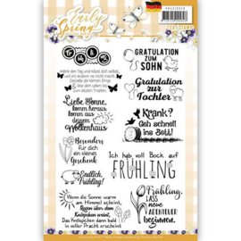 PMSC10026 Duitse tekst - Early Spring - Marieke Design