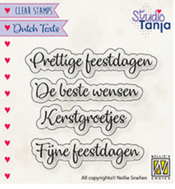 DTCS025 Tekststempel NL - Nellie Snellen