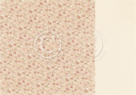 PD18004 Scrappapier dubbelzijdig - Life is Peachy - Pion Design