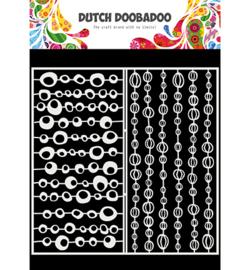 470.715.821 - Mask Art Slimline Groovy Circles - Dutch Doobadoo
