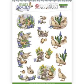 SB10437 Stansvel 3D vel A4 - Botanical Spring - Amy Design