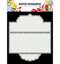 470.713.874 - Card Art Slimline Tie card - Dutch Doobadoo