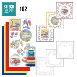 Stitch and Do nr. 102 - Oldtimers