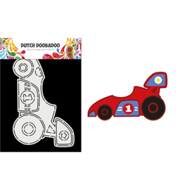 470.784.013 - Card Art Race Car - Dutch Doobadoo