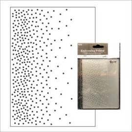 30032550 Falling Dots - Embossingfolder Darice