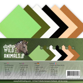 ADA510019 Karton A5 - Wild Animals - Amy Design