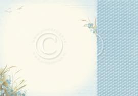 PD16003 Dubbelzijdig Scrappapier - Seaside Stories - Pion Design