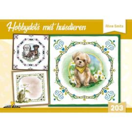 Hobbydols nr. 203 - Hobbysots met huisdieren