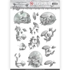 SB10316 3D Stansvel  A4 - Words of Sympathy - Amy Design
