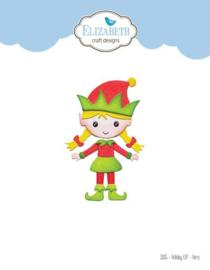 1826 Snijmal  Holiday Elf Hers - Elizabeth Craft