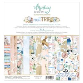 Mintay Papers - Next Trip - Paperpad 30.5 x 30.5 cm - MT-NEX-07 - Pakketpost!