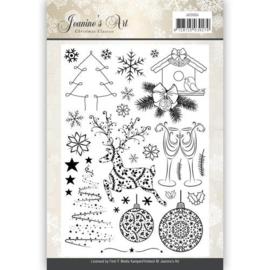 JACS10004 Clearstempel - Christmas Classic - Jenine's Art