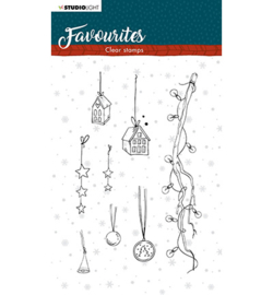 STAMPSL507 Clearstempel - Winter's Favourites - Studio Light