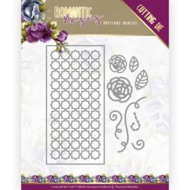 PM10199 Snij- en embosmal - Romantic Roses - Marieke Design