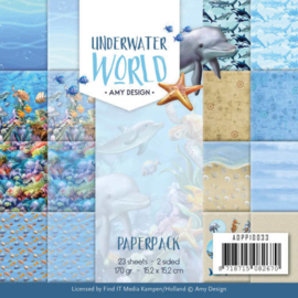 ADPP10033 Paperpad - Under Water World - Amy Design