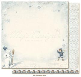941 Scrappapier dubbelzijdig - Joyous Winterdays - Maja Design