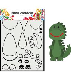 470.784.014 - Card Art Built up Dino - Dutch Doobadoo
