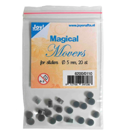 6200/0110 Magical Movers voor sliders - 20 stuks  - Joy Crafts