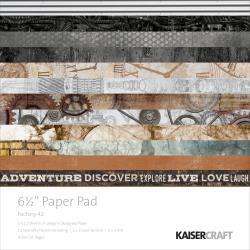 PP1026 Paperpad 16.5x16.5cm - Factory 42 - Kaisercraft
