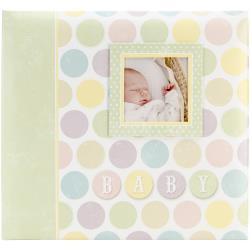 Scrapalbum Baby circles- met passepartout - 12 x 12 inch