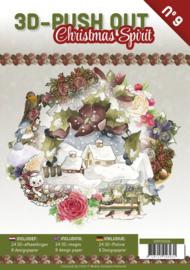 3DPO10009 Uitdrukvellen boek - Kerst
