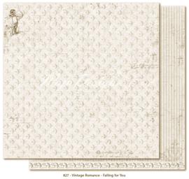 827 Scrappapier dubbelzijdig - Vintage Romance - Maja Design