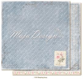 1103 Scrappapier dubbelzijdig - Miles Apart - Maja Design