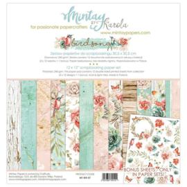 Paperpad 30.5 x 30.5cm - Birdsong - Mintay  - PAKKETPOST!