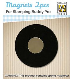 STBM001 Magneten 2 stuks  voor Stamping Buddy Pro - Nellie Snellen