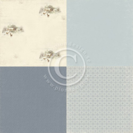 PD5205 Scrappapier Dubbelzijdig - Days of Winter - Pion Design