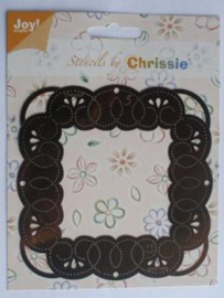 6001-1005 Borduurmal Chrissie - Joy Crafts