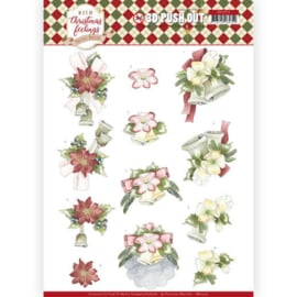SB10375 Uitdrukvel A4 - Warm Christmas Feelings - Marieke Design