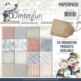 PMPP10012 Paperpad - Winter fun - Marieke Design