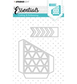 STENCILSL144 Snij- en embosmal - Essentials- Studio Light